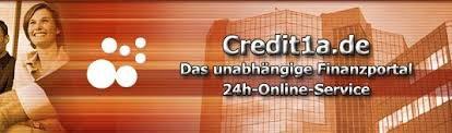 Credit1a Finanzen + Vergleichsportal